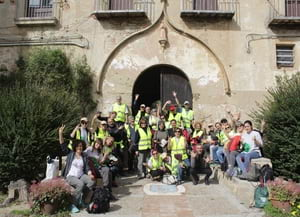 Voluntaris a Sant Jeroni. Autor: Cercle Voluntaris